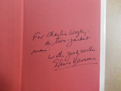 """Rare/ Unique-1974 Edwin Newman Signed Book """"Strictly Speaking""""-First Edition"""