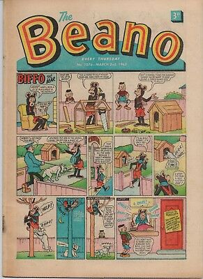 Rare Issue No. 1076 The Beano Comic 2 March 1963