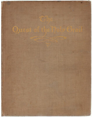 "1902 ""The Quest of the Holy Grail"" by Edwin Austin"