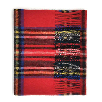 Kiltane of Scotland 100% Lambswool Scottish Tartan Scarf/Shawl -XL Royal Stewart