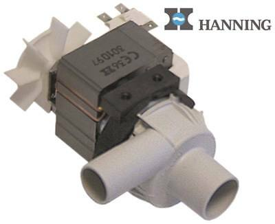 Hanning BE28B4-017, BE28B4-178 Drain Pump for Combination Steamer Rational CM201