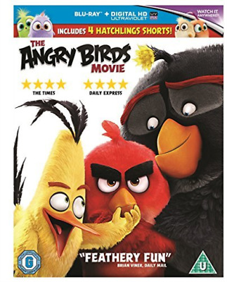 THE ANGRY BIRDS MOVIE BLURAY Blu-Ray NEW