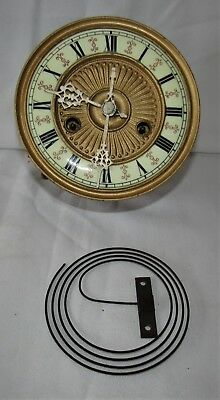 Good Striking Vienna Wall Clock Movement & Dial