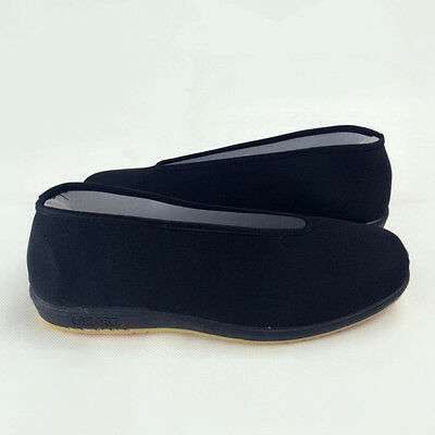 Black Shoes Sneakers Soft Comfortable For Kung Fu New Wear-resistance Anti-slip