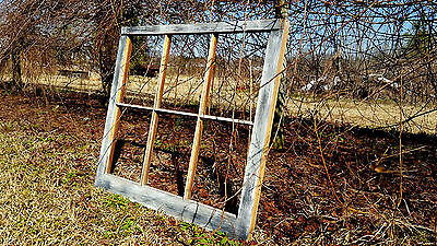 Vintage Sash Antique Wood Window Unique Frame Pinterest Wedding 6 Pane No Glass