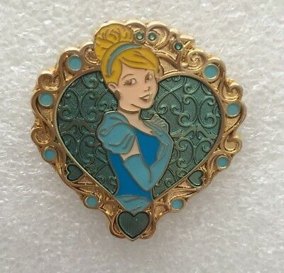 Disney Pin - Storybook Princess - Princess Hearts - Cinderella Only