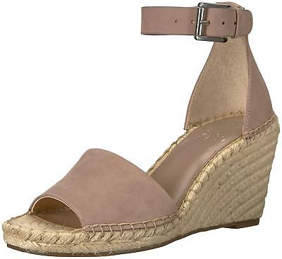 ac29362c9d7 VINCE WOMEN'S TAUPE Wedge Leather Espadrille Wedge Sandal Sz 10 ...