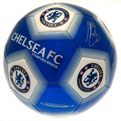 Chelsea Fc Signed Football Ball Size 5 Printed Signatures Autograph Official
