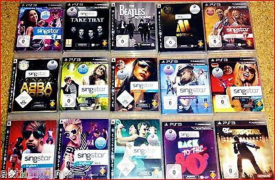 PS3 Singstar: Disney,Germany,Abba,Sing It,Ski,Pop; 80s,Vol.3,Mallorca,Karoke