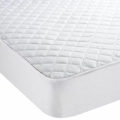 Olivia Rocco Luxury Quilted Egyptian Cotton Mattress Protector, All Sizes