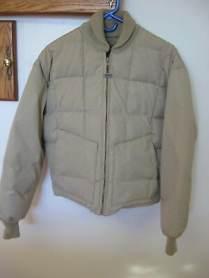 WALLS Vintage Blizzard Pruf Down Insulated Quilted Puffer Coat JACKET Mens large