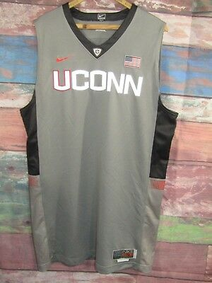 bd5eabfb4 Nike Elite Game Jersey Blank UCONN Connecticut Huskies Mens 54 + 4 Length  USA
