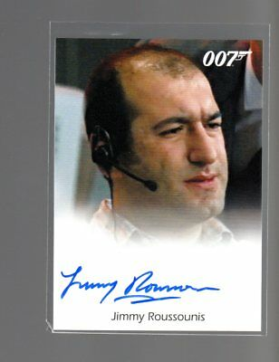 James Bond Archives Final Edition Jimmy Roussounis Autographed card #4
