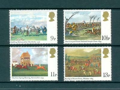 GB 1979 Horse Racing Paintings set Mint/MNH. One postage for multiple buys