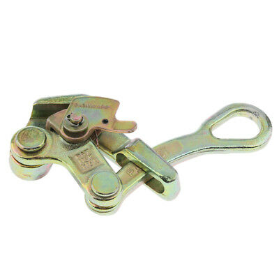 Perfeclan Alloy Steel Wire Clamp Grip Tensioner Clamp for Wire Rope 1 tons