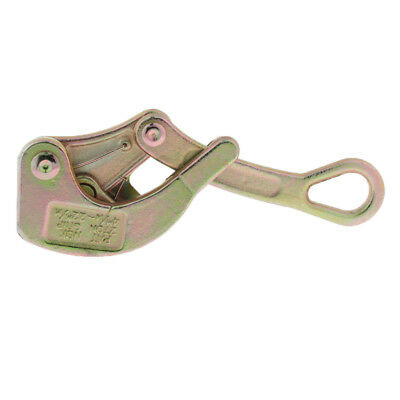 Perfeclan Alloy Steel Wire Clamp Grip Tensioner Clamp for Wire Rope 2 tons