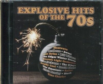 Explosive Hits Of The 70S - Various Artists - Cd