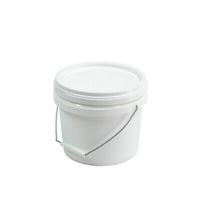 Food Safe Pail Bucket 5L Okka Ingredient Tub With Lid & Handle Container Oil