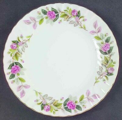 Vintage Creative FIne China of Japan #2345 Regency Rose Luncheon Plates (4)