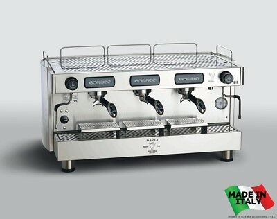 NEW Electrical Dosage 3 Group Commercial Espresso Machine Stainless Steel
