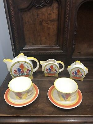 Art Deco Style Tea Set For Two