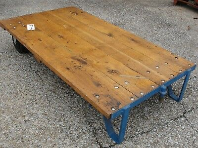 Used Faultless Nutting Cart, 23-001-050, possible coffee table