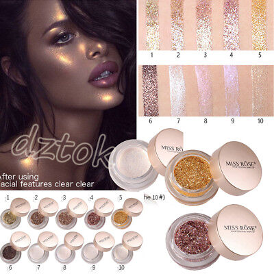 Shimmer Glitter Eye Shadow Powder Palette Matte Eyeshadow Cosmetic Makeup Beauty
