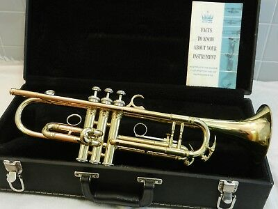 KING SUPER 20 Model S2 1950s Lrg Bore Trumpet - Beautiful Lacquer - Sweet Player