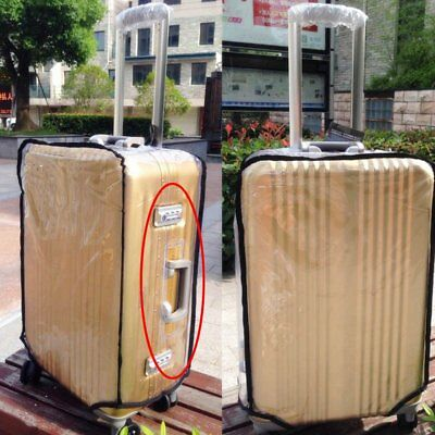 """Fit 18""""-30"""" Travel Luggage Suitcase Cover Waterproof Dustproof Protector Case"""