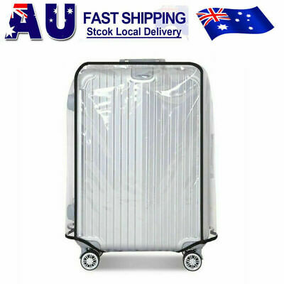 PVC Transparent Waterproof Dustproof Travel Luggage Protector Suitcase Cover Bag