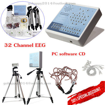 KT88-3200 Digital Brain Electric Activity Mapping 32 channels of EEG PC software