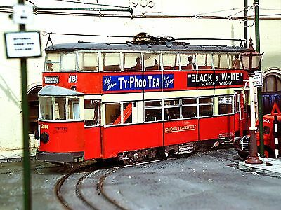 O Gauge LTPB London Transport Feltham streamline tram CARD kit for 0 scale