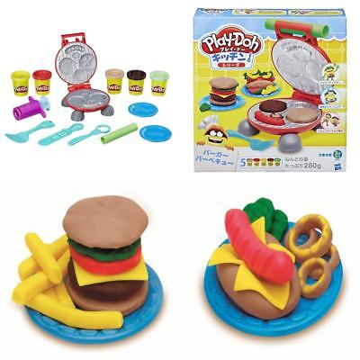 Play Doh Kitchen Creations burger barbecue