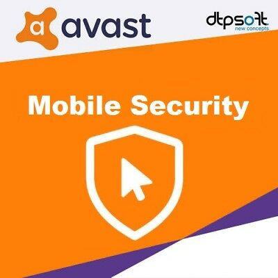 Avast Mobile Security 2019 1 Smartphone 1 Device - 1 Year | Avast! Android UK