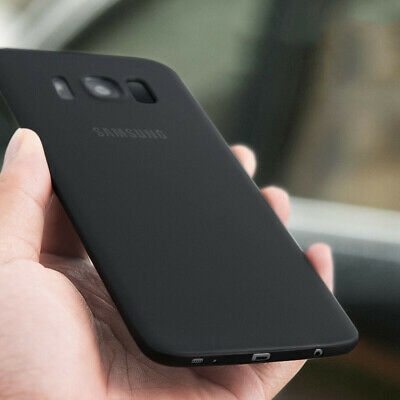 Ultra-Thin Slim Fashion PP Matte Back Case Cover For Samsung Galaxy S8 S9 Plus