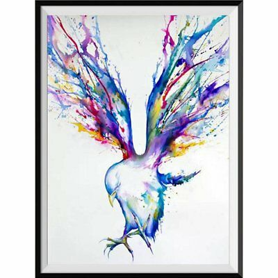 Eagle Diamond Painting Colourful Abstract Painting Home Decoration Best Gift Q