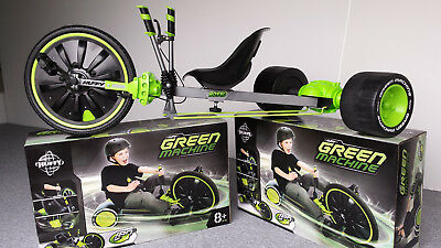 Kinder Drift Trike Dreirad Huffy 20 Zoll Green Machine - Original mit Bremse!