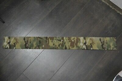 "1 Yard - 4"" Crye Multicam VELCRO® - Loop Military Webbing mtp sew on"