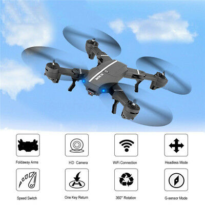 8807W Foldable With Wifi FPV HD Camera 2.4G 6-Axis RC Quadcopter Drone Kid' Gift