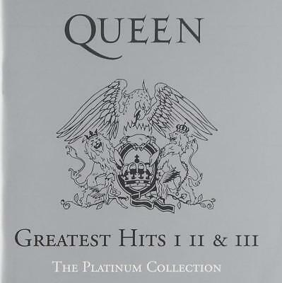Queen - The Platinum Greatest Hits I, II & III CDs Box Set
