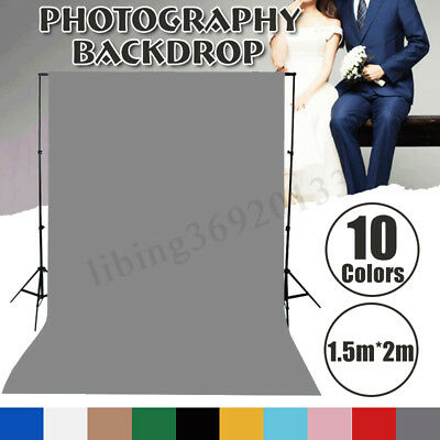 5x7ft Solid Color Photography Background Screen Cotton Studio Backdrop Photo Pro
