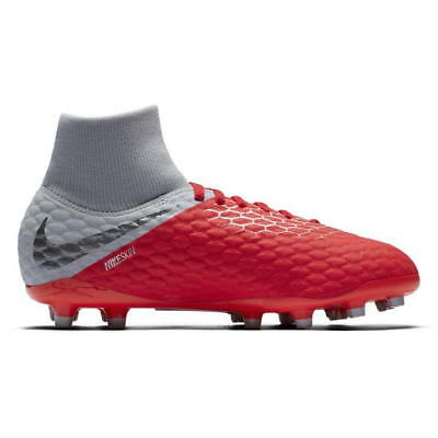 on sale f5254 0e996 Nike Hypervenom Phantom Academy Df Junior Godasses de Football Fg UK 4 Ref  4410