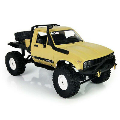 WPL C14 1:16 2.4G 2CH 4WD Off-road 15km/h RC Semi-truck Metal Chassis RTR / Kit