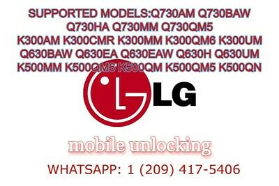 Sprint Lg G6,G5,G4, And Many Other Models Remote Unlock
