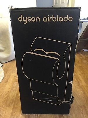 1 x Dyson Airblade Hand Dryer - AB01 STEEL - BRAND NEW