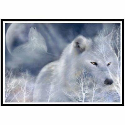 Wolf s011 diamond painting Handmade Diamond Painting Art Craft Home Wall DecorZ0