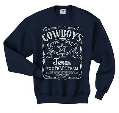 DALLAS COWBOYS JERSEY NAVY BLUE SWEATSHIRT We Dem Boyz
