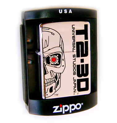 ZIPPO Beautiful TERMINATOR T2 JAPAN LIMITED EDITION Mega Rare ONLY 1 on EBAY !