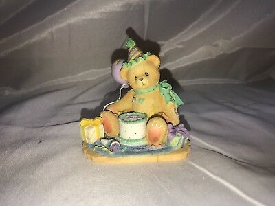 'You're The Frosting On The Birthday Cake' - Cherished Teddies Collectible
