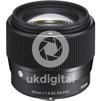 Sigma 56mm f/1.4 DC DN Contemporary Lens - Sony E
